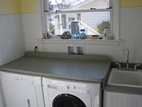 Ooxford laundry room after